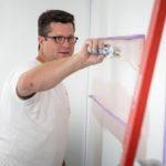 Alain, peintre et patron de Tendance Eco Couleur a confié sa page Facebook à La boite à guillets